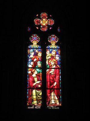 Vitrail de l'église Saint-Benoit